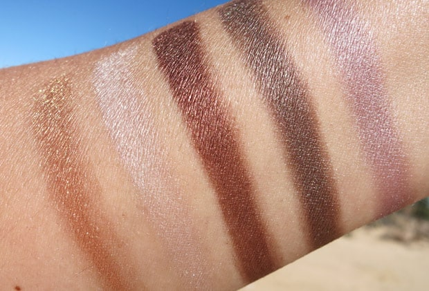 bareMinerals two for show swatches 19 bareMinerals Two for the Show swatches and review