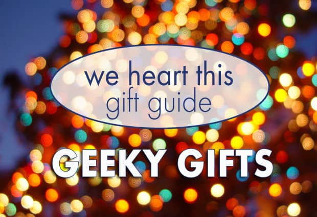 we heart this geek gift guide Holiday Gift Guide: For the Geeks