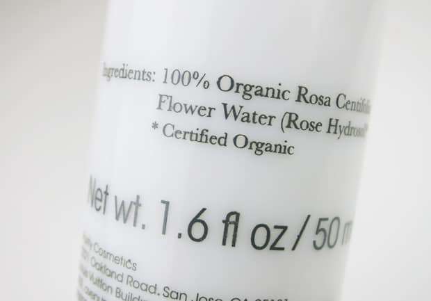 100 Percent Pure Organic Rose Hydrosol 5 100% Pure Organic Rose Hydrosol Facial Mist Review