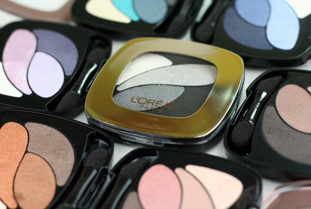 Loreal colour riche eye shadow 3 LOreal Colour Riche Ombre Quad swatches and looks   PIC HEAVY