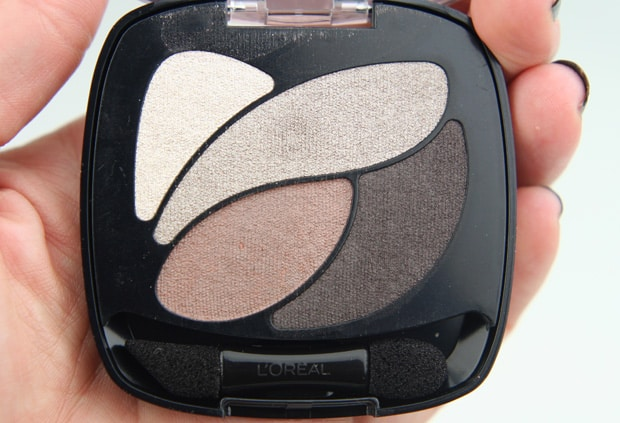 Loreal colour riche eye shadow absolute taupe 9 LOreal Colour Riche Ombre Quad swatches and looks   PIC HEAVY