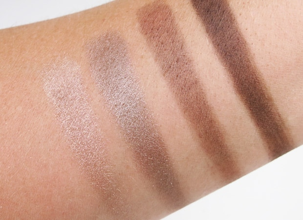 Loreal colour riche eye shadow absolute taupe swatches 10 LOreal Colour Riche Ombre Quad swatches and looks   PIC HEAVY