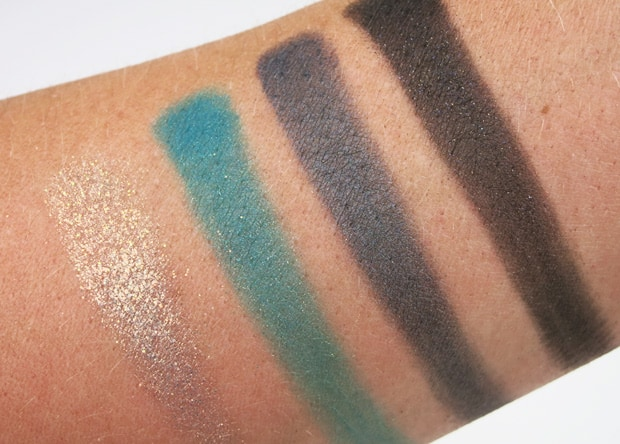 Loreal colour riche eye shadow emerald conquest swatches 13 LOreal Colour Riche Ombre Quad swatches and looks   PIC HEAVY