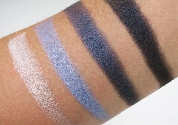 Loreal colour riche eye shadow eternal blue swatches 15 LOreal Colour Riche Ombre Quad swatches and looks   PIC HEAVY