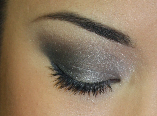Loreal colour riche eye shadow incredible grey B LOreal Colour Riche Ombre Quad swatches and looks   PIC HEAVY