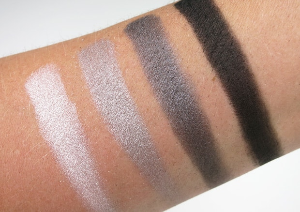 Loreal colour riche eye shadow incredible grey swatches 17 LOreal Colour Riche Ombre Quad swatches and looks   PIC HEAVY