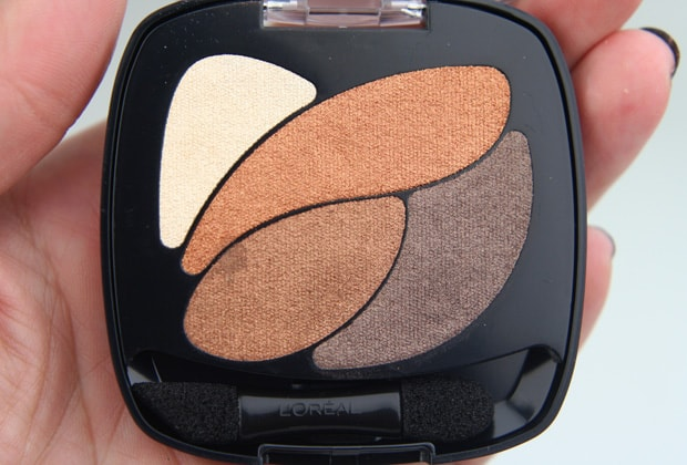 Loreal colour riche eye shadow treasured bronze 7 LOreal Colour Riche Ombre Quad swatches and looks   PIC HEAVY