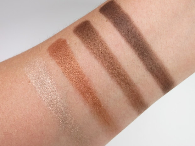 Loreal colour riche eye shadow treasured bronze swatches 8 LOreal Colour Riche Ombre Quad swatches and looks   PIC HEAVY