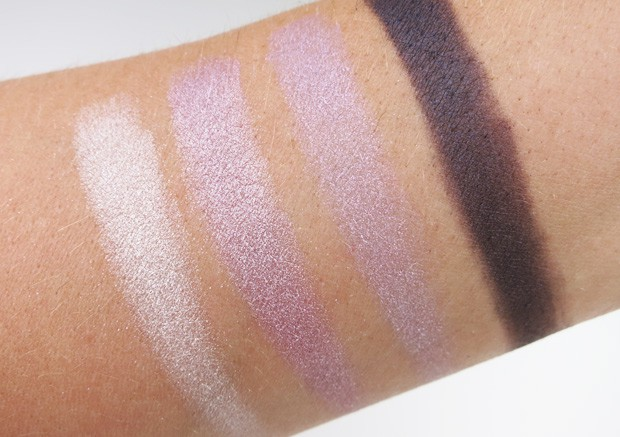 Loreal colour riche eye shadow unforgettable lilac swatches 11 LOreal Colour Riche Ombre Quad swatches and looks   PIC HEAVY