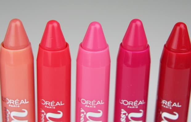 Loreal glossy balm 2 L'Oreal Glossy Balms Swatches and Review