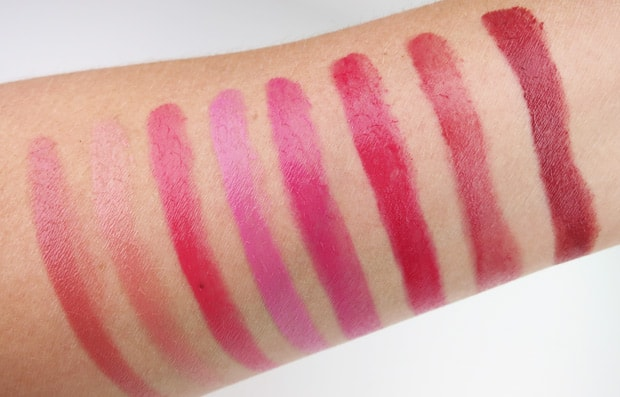 Loreal-glossy-balm-swatches-6