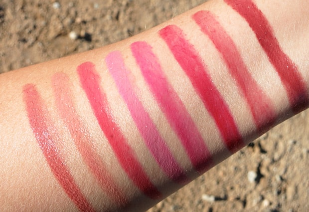 Loreal glossy balm swatches 7 L'Oreal Glossy Balms Swatches and Review