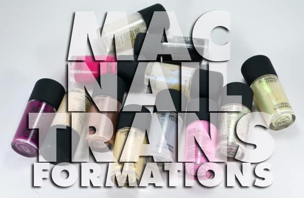 MAC Studio nail lacquer 1 MAC Nail Transformations Swatches and Review