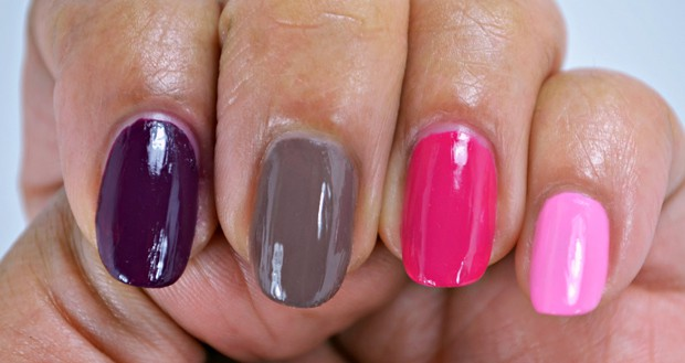 MAC Studio nail lacquer 3 swatches MAC Nail Transformations Swatches and Review