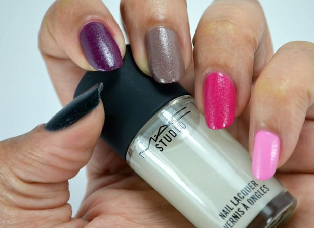 MAC Nail Transformations Swatches and Review