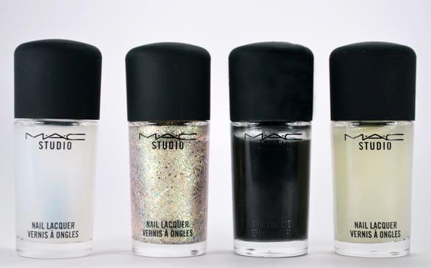 MAC Studio nail lacquer toppers 12 MAC Nail Transformations Swatches and Review