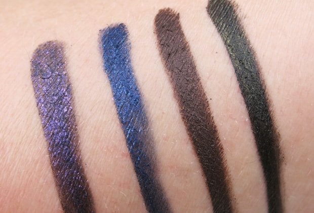 Milani-Fierce-Foil-eyeliner-swatches-7