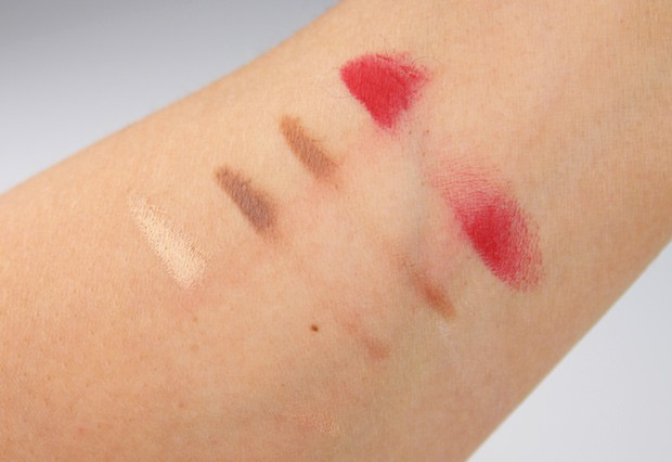 Beautylish Bioderma swatches P Whats New at The Makeup Show LA 2015