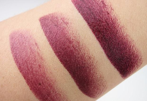 Lipstick Queen Bete Noire swatches 6 Lipstick Queen Bete Noire swatches and review