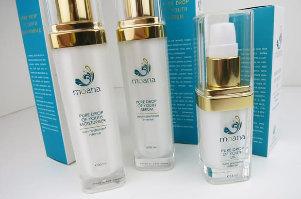 Moana skincare 1 Moana Skincare Review: Pure Drop of Youth Collection
