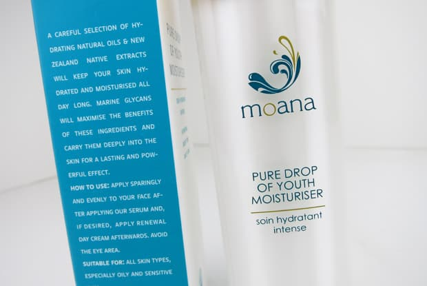 Moana skincare moisturizer 3 Moana Skincare Review: Pure Drop of Youth Collection