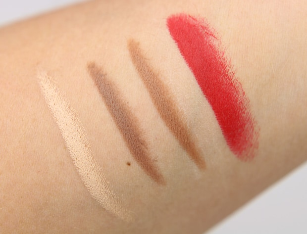 Smashbox Bing lipstick swatches N Whats New at The Makeup Show LA 2015