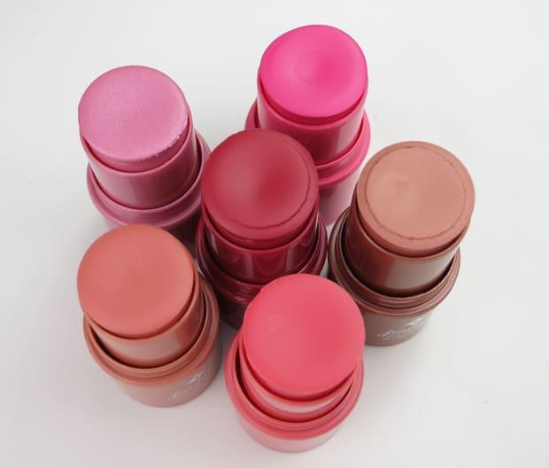 Jordana color tint review 4 Jordana Color Tint Blush Stick Swatches and Review