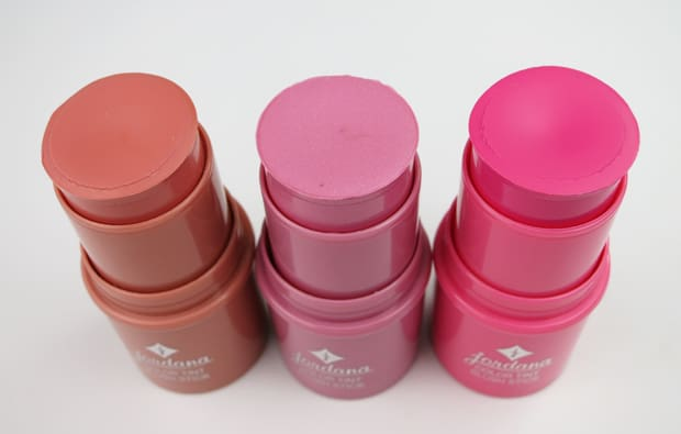 Jordana color tint review sunkissed swatch 5 Jordana Color Tint Blush Stick Swatches and Review