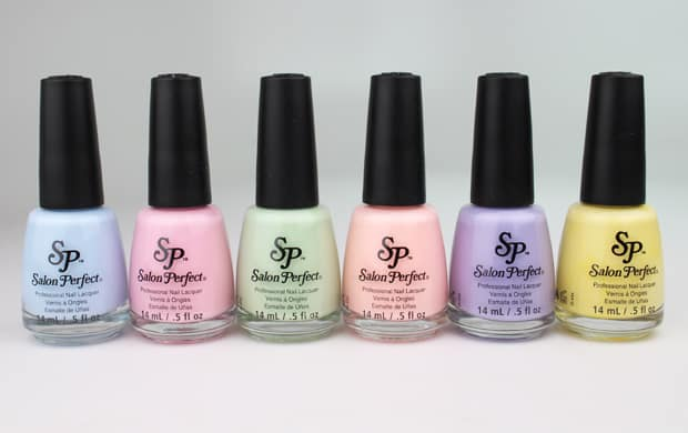 Salon Perfect 2 Pastel Perfection from Salon Perfect Nail Polish