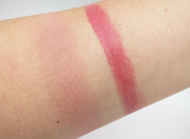 tarte tartelette amazonian clay blush celebrated swatches 4 tarte Tartelette lipstick and blush Swatches and Review