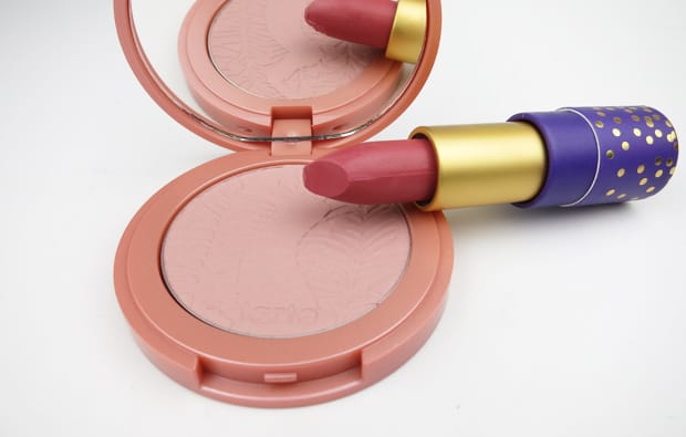 tarte tartelette spring collection swatches 1 tarte Tartelette lipstick and blush Swatches and Review
