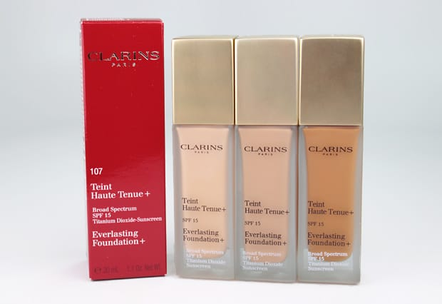 Clarins Everlasting Foundation review 1 Clarins Everlasting Foundation + swatches and review