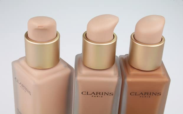 Clarins Everlasting Foundation review 5 Clarins Everlasting Foundation + swatches and review
