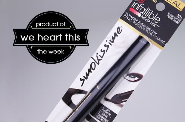 we heart this: L'Oreal Infallible Smokissime Powder Eyeliner Pen