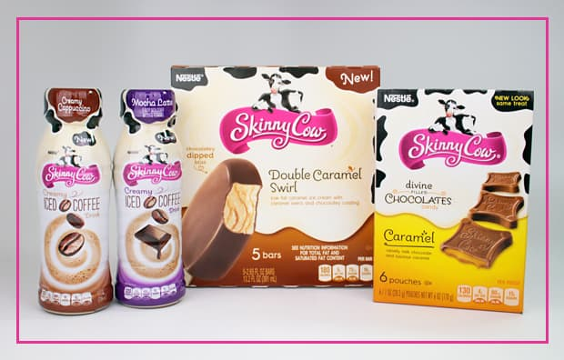 Skinny Cow product boxes reviews My #SkinnyCowSecret   I eat ice cream in the tub