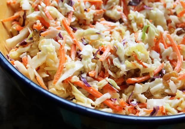 easy picnic recipes pineapple coleslaw 1 Easy Picnic Recipes: Pineapple Coleslaw