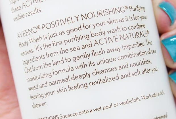 Aveeno Purifying Body Wash review 3 Aveeno Purifying Body Wash review