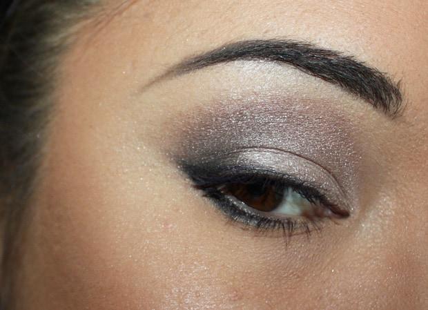 MAC Cool Neutral eye shadow palette look row 3 A MAC Cool Neutral palette swatches, looks and review