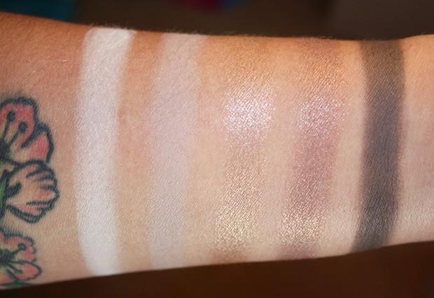 MAC Cool Neutral eye shadow palette swatches row 2 MAC Cool Neutral palette swatches, looks and review
