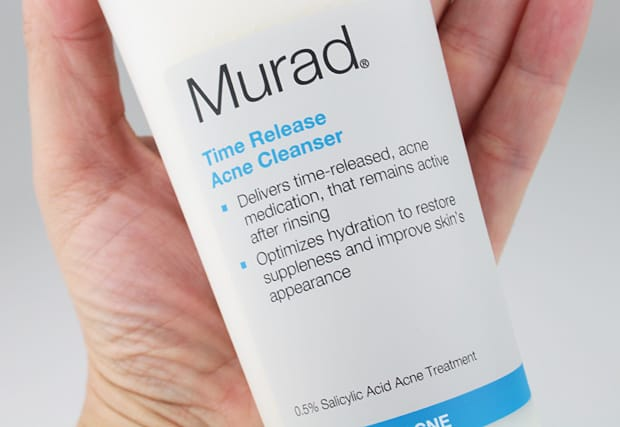 Murad Acne cleanser packaging 2 Murad Anti Aging Acne Regimen Review