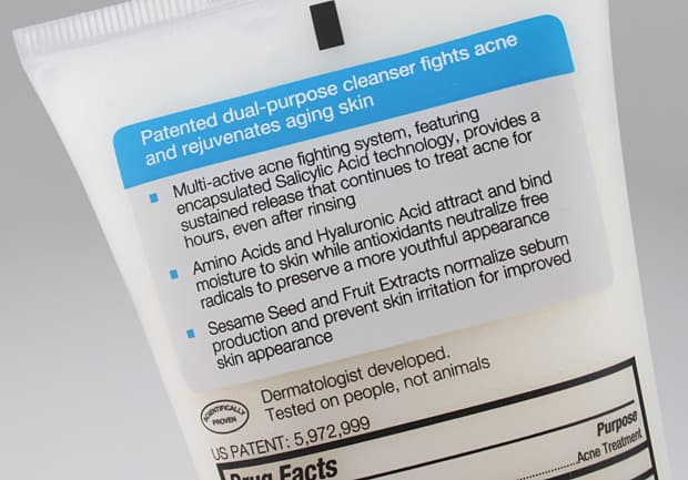 Murad Acne cleanser packaging 3 Murad Anti Aging Acne Regimen Review