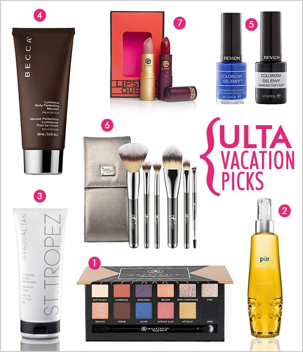 Ulta Vacation picks My Ulta Packing List: Vacation