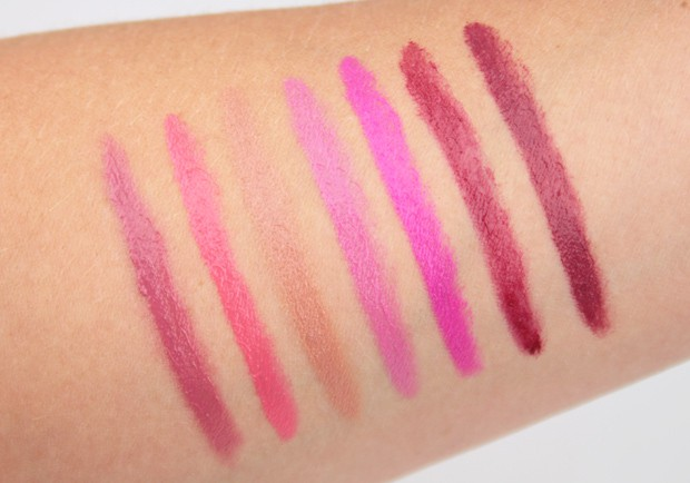 butter London bloody brilliant lip crayon swatches 7 butter London Bloody Brilliant Lip Crayon swatches and review