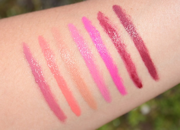 butter London bloody brilliant lip crayon swatches 8 butter London Bloody Brilliant Lip Crayon swatches and review