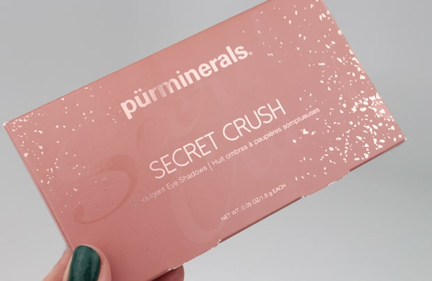 purminerals secret crush eye shadow palette packaging 2 Pür Minerals Secret Crush Eye Shadow Palette swatches and review