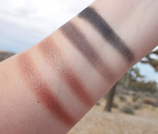 purminerals secret crush eye shadow palette swatches 8 Pür Minerals Secret Crush Eye Shadow Palette swatches and review