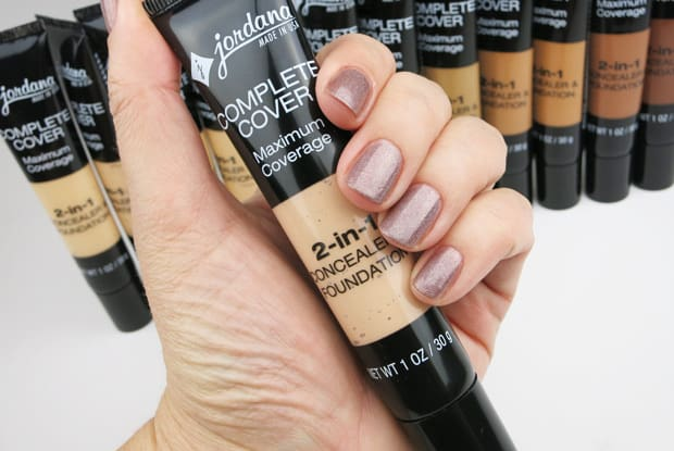 Jordana Complete Coverage swatches 3 Jordana Cosmetics Complete Cover 2 in 1 Concealer & Foundation swatches