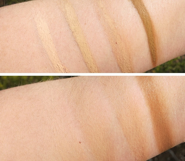 Jordana Complete Coverage swatches 6 Jordana Cosmetics Complete Cover 2 in 1 Concealer & Foundation swatches