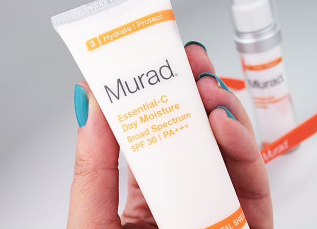 Murad Essential C Day Moisture 3 Murad Essential C Day Moisture Broad Spectrum SPF 30 and Advanced Active Radiance Serum review