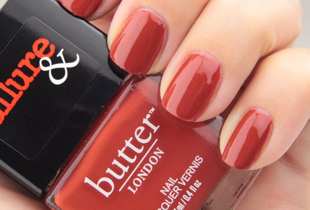 Allure butter london collection nail lacquer Its Vintage swatches 3 Allure and Butter London swatches and review